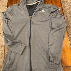 Men's Large running jacket Adidas